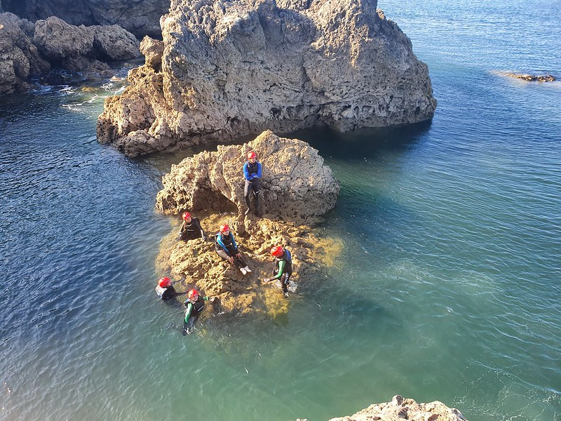 Coasteering feature image