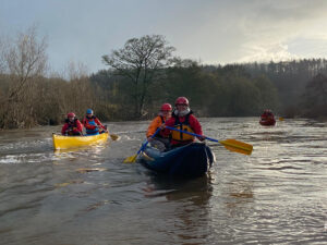 Canoe White Water Grade 2 South Tyne Feature Image