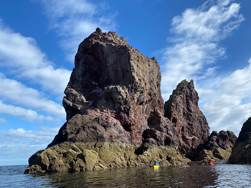 Sea Kayak St Abbs to Pease Bay Feature Image